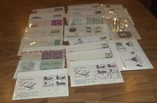 DEALERS LOT OF UNITED STATES POSTAGE STAMPS FIRST DAY COVERS STAMPED ENVELOPES