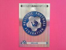 FIGURINE PANINI EURO 2012 - N. 79 SCUDETTO HELLAS
