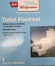 Walgreens Well Toilet Footrest Squatty Footrest Bathroom Stool Tuck Away