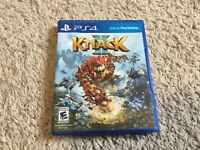 Knack II 2 Video Game for Sony PS4 Complete in Case PlayStation 4