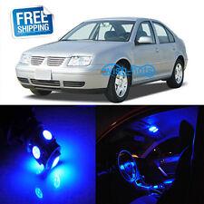 10X Blue Interior LED Light Package Kit For 99 - 05 Volkswagen MK4 Jetta GTI Gol