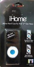 iHome Reflect Mirror Metal Shiny Hard Case IPOD Nano 2nd Gen Accessory 2G NIB D8