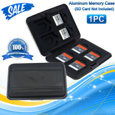 Memory Card Wallet 8 SD +8 Micro SD TF Cards Protecter Storage Holder Pouch Case