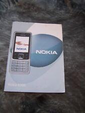 Genuine Nokia 6300 Printed User Guide Manual English Language Version