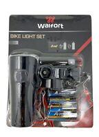 STVZO *NEU* AWE Fahrradlicht LED BrightTM Fahrrad vorne//hinten Licht Set