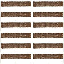 Wilgenhek border 120 x 35 cm (12 stuks) schutting afscheiding