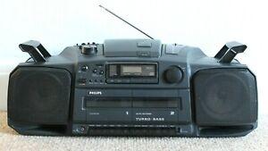 Philips AZ8404 Portable Stereo/Ghetto Blaster/Boombox