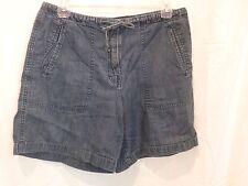 Women's Denim Jean Shorts sz 8 Limited Jeans DG D-63 walking Vintage Dark Wash
