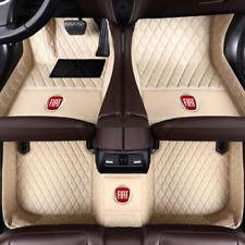 Suitable For Luxury Custom For Fiat 500 500X Car Floor Mats 2010-2020