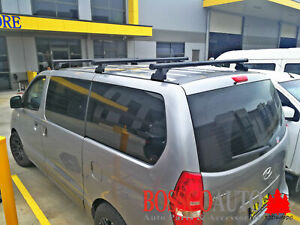 Set of 3 Heavy Duty Roof Racks suitable for Hyundai iLoad 2007-2018