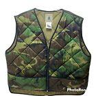 Northwest Territory Men's XXL  Full Zip Vest Camo Jacket Quilted Insulation