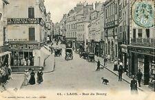 Carte LAON Rue du Bourg