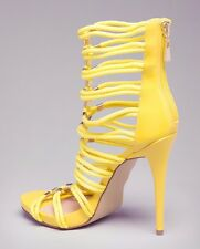 NEW BEBE CADEE ROPE SANDALS SIZE 8.5 Yellow