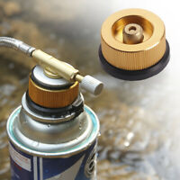 Camping Stove Butane Gas Adapter Convert Fuel Canister for Long Gas Tank AU