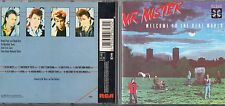 MR MISTER CD WELCOME TO THE REAL WORLD 1985 FUORI CATALOGO made in FRANCE