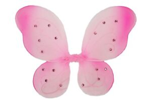 """1 - ( 19"""" x 14"""" ) Butterfly Fairy Costume ADULT WINGS CHOOSE Color"""