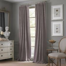 Valeron Estate Cotton Linen 95-Inch Window Curtain Panel in Amethyst
