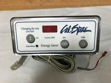 Cal Spas Topside Control Panel System 2000 ELE09200500