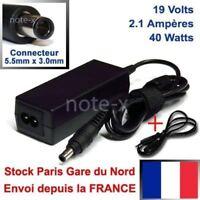 chargeur alimentation    POUR SAMSUNG   N130  N140  N150 19V 2.1A