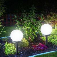 2/4/8PCS Solar Pathway Lights Waterproof LED Outdoor Garden Landscape Yard Lamp