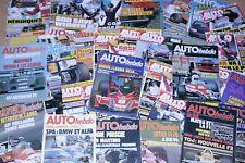 AUTO HEBDO la revue du Sport Auto par Année Complète (1979) 24 Le Mans F1 NASCAR