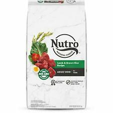 Nutro Wholesome Essentials Natural Adult Dry Dog Food Lamb & Rice Recipe 40 Lb.
