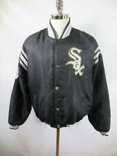 E9083 VTG STARTER Chicago White Sox MLB Baseball Jacket Size L