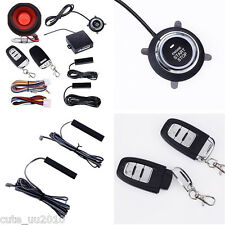 Car Alarm System PKE-Passive Keyless Entry remote start push button Hopping code
