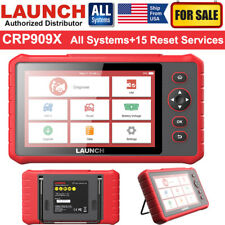 LAUNCH CRP909X RPO Auto OBD2 Scanner Code Reader Car Full-System Diagnostic Tool