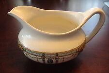 Queens Green Solian Ware Milk Jug & Stand Soho Pottery Cobridge C1930 Art Deco