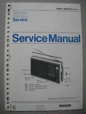 Philips 90 RL301 Kofferradio Service Manual