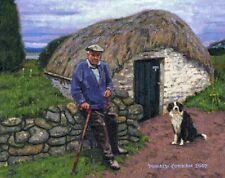 COLOR PRINT OF OIL PAINTING, IRELAND SERIES #160