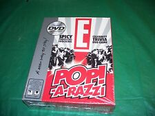 NIB Pop-A Razzi Celebrity Trivia DVD Game 2005 E Entertaiment TV