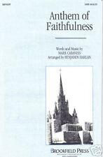 Anthem of Faithfulness Cabaniss/Harlan Sheet Music 1997