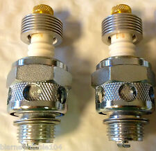 Champion 18mm Air-Cooled Spark Plugs #3 Harley Knucklehead UL With Umbrella Fins