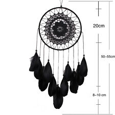 Handmade Dream Catcher with feathers wall hanging decoration ornament-Wolf BH