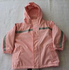 BMS Baby/Kinder Regenjacke, Matschjacke, Fleecefutter, atmungsaktiv,  Gr.86 rosa