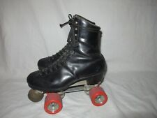 Men's Riedell Red Wing Leather Roller Skates Men size 7.5 Super Deluxe Skates US