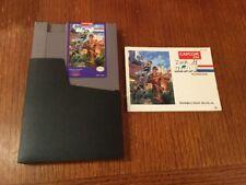 GI Joe : The Atlantis Factor (Nintendo, Nes) with Manual