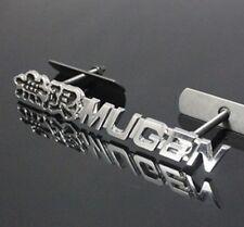 Black Metal Hood Front Grille Grill Badge Mugen Power Emblem For AC HO