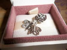 Genuine Authentic Pandora Silver Best Friends Butterflies Pendant Charms 790531