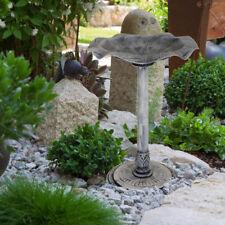 Blatt Design Vogel Tränke Terrasse Dekoration Stand Wasser Bad Schale Becken
