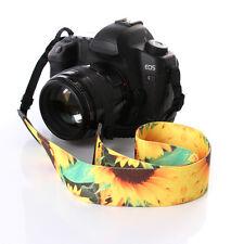 Sunflower DSLR Camera Shoulder Neck Strap Lanyard Carrier For Canon Nikon Sony