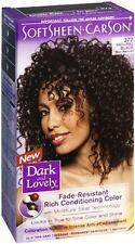 Dark and Lovely Permanent Hair Color 372 Natural Black 1 Each