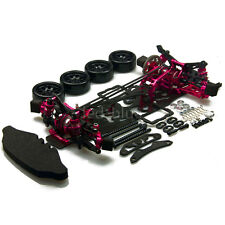 1/10 Alloy & Carbon SAKURA D4 AWD RC 4WD Drift Racing Car Frame Kit w/4 Wheels
