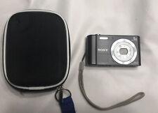 Sony Cyber-Shot DSC-W800 Digital Camera Black 20.1 MP 5x Zoom 2GB SD Card G'ted