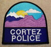 CO Cortez Colorado Police Patch