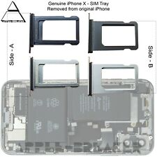 Original iPhone x Bandeja Sim iPhone X Original retirado parte