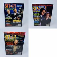 Lot of 3 Sci Fi Entertainment Magazines Aug 1997, Apr 1998, June 1999