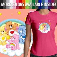 Care Bears Grumpy Cheer Tenderheart Funshine Bear Girls Juniors Tee T-Shirt S~2X